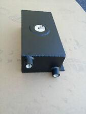 Compact 1.25 Gallon Water To Air Intercooler Aluminum Tank Ice Box Black