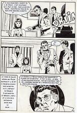 LA LOUVE WEEKEND A PEKIN  (RENAUD) PLANCHE ORIGINALE AREDIT PAGE 151