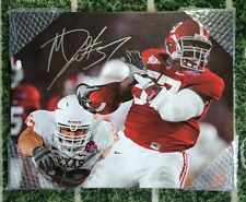 Marcell Dareus Autographed Signed Alabama 16x20 Canvas BCS Champs Buffalo Bills