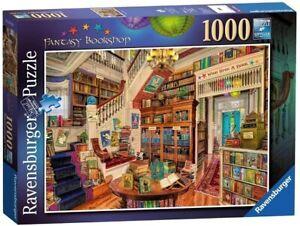 Ravensburger 1000 Piece Jigsaw Puzzle - Fantasy Bookshop