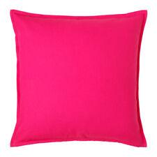 IKEA Gurli Kissenbezug Kissenhülle Kopfkissen Bezug rosa Baumwolle 50x50cm