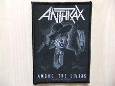 Aufnäher - Patch - Anthrax - Among The Living - Metallica - Slayer - Megadeth