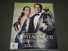 2013 DECEMBER TOWN & COUNTRY MAGAZINE - FABIEN COUSTEAU COVER - K 1461