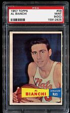 1957 Topps #59 *AL BIANCHI* MINT PSA 9 (oc) pop 1/1! RC+SP Ultra Rare! set break
