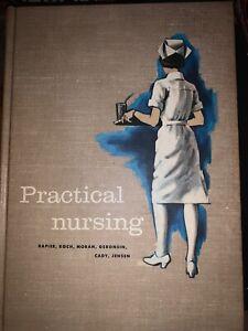 Practical Nursing Book 1962 ( Vintage)