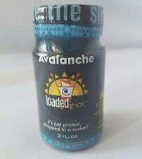 Avalanche Shots Loaded Energy Protein B Vitamin/Green Tea 2oz (12-Pack) Exp 2/19