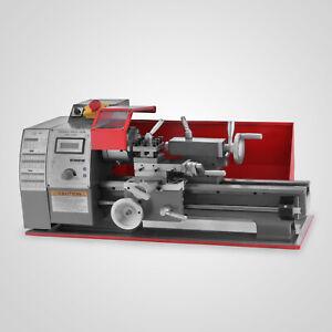 Mini Torno de metal 600W DC motorizado Máquina de Torneado 180mm 2500RPM.