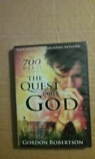 The Quest for God - The 700 Club Gordon Robertson - Brand NEW DVD