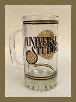 "Vintage Universal Studios Extra Large Glass Mug - 6"" Tall!"