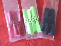 """3 LOT 12 Hélices DIATONE 4"""" X 4,5 BULL NOSE bipales DRONE FPV RACER 3 couleurs"""