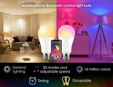 Bluetooth Smart Bulb LED Magic RGBW home Lighting 10W E27 color change dimmable