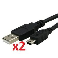 MINI USB CABLE 2.0 A TO B FOR CELLPHONES, PC, CAMERA DATA TRANSFER