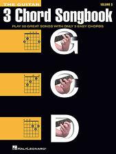 The Guitar Three-Chord Songbook Volume 3 G-C-D Sheet Music Melody Lyri 000137261