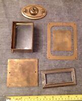 Antique Carriage Clock Case Spare Parts