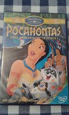Walt Disney DVD Pocahontas Animation Kinder Cartoon Film
