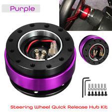 Universal Steering Wheel Quick Release Hub Adapter Off Kit Aluminum Alloy
