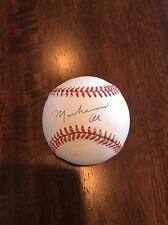 Early Career Muhammad Ali Signed Signed AUTO Mint Baseball Full PSA LOA