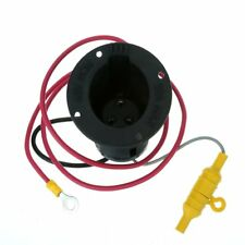 48 Volt DC Charger Receptacle & Fuse Assembly For CLUB CAR DS Golf Cart