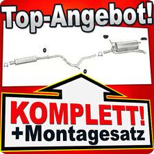 Auspuff FIAT PALIO 1.2 8V 1.9 D Weekend Kombi 1997-2001 Auspuffanlage 136