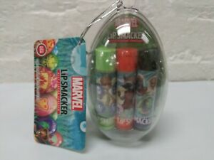 Lip Smacker Egg Trio Marvel Guardians Of The Galaxy New Lip Balm