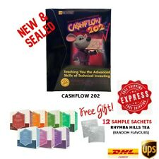 New Rich Dad Cashflow 202 Board Game Investing Education+Freebies & Express Ship