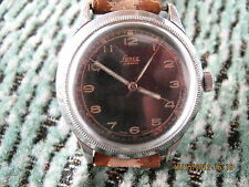 SALE!RR huge 40mm Lanco pilot wristwatch from 30/40 years of XX century,original