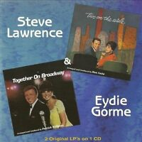 Two on the Aisle/Together on Broadway by Eydie Gorme/Steve Lawrence (CD,...
