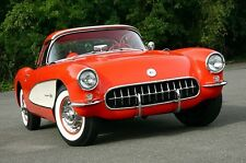 1957 Corvette Chevy Built 1 Sport Car 12 Vintage 24 Carousel Red 18 Model 25
