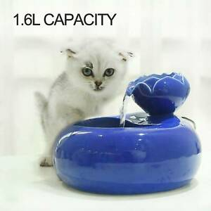 Automatic Electric Pet Water Fountain Dog Cat Drinking Bowl Drinker Tank Drinker