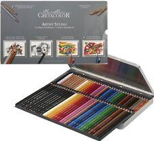 72 Buntstifte und Bleistifte /Zeichen Set im Metalletui CRETACOLOR Artist Studio