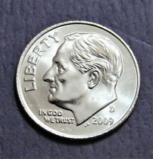 2009-D BU Roosevelt Dime Choice 60 Year Low Mint of 49 Mil-Free Ship!