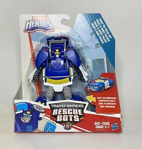 Heroes Transformers Rescue Bots Chase the Police Bot
