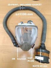 SPECIAL Hose Tube  NATO 40 mm/1100 mm/+1 CAP PLUG