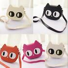 Women Shoulderbag Cat Shpe Satchel PU Leather Messenger Crossbody Bag Handbag