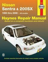 Haynes Nissan Sentra and 200SX [1995-2006] Repair Manual 72051