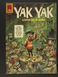 YAK YAK 1961 SILVER AGE DELL COMIC # 1186 (VF) ~