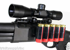 Remington 870 parts Saddle Mount with 4x32 Mildot Reticle Scope Shell Holder Kit