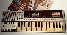 Vintage CASIO digital keyboard w/ROM pack BEAUTIFUL WORKING COLLECTABLE!!!