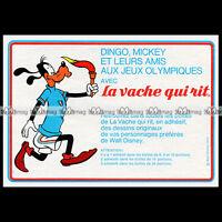 LA VACHE QUI RIT Fromage DINGO / GOOFY Walt Disney 1972 Pub Publicité Ad #B586