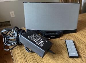 BOSE SoundDock Series II 2 Digital Music System iPod Speaker Black, Pwr Crd; Rmt