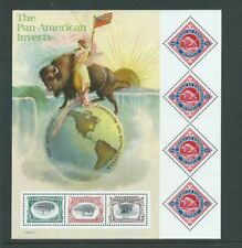 Cat no. 3505 PAN-AMERICAN EXPOSITION INVERT STAMPS, CENT. MNH