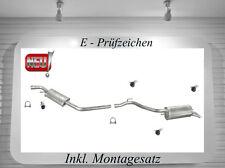 Auspuff VW T4 1.9 TD 2.4 D Auspuffanlage Endtopf Mitteltopf Montagesatz