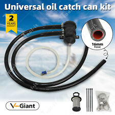 16mm hose Catch Can Crankcase Breather Universal kitFor ProVent 200 Diesel Oil