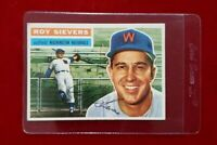 1956 Topps Set Break # 75 - Roy Sievers EX-MT (white back)