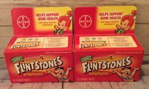 Flintstones Complete Children's Multivitamin Supplement 40 Chewable Tabs-2 Pack