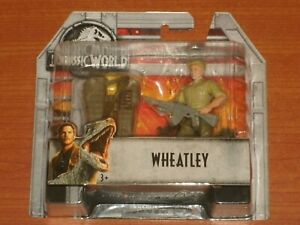 Jurassic World:  WHEATLEY 'MERCENARY'  Action Figure Mattel 2018 Jurassic Park