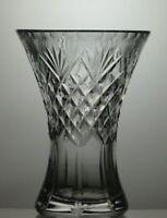 ROYAL BRIERLEY LEAD CRYSTAL CUT GLASS VASE
