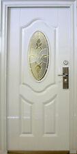 Wohnungstür,Sicherheitstüren,Haustür,Tür Türen weiß In Rechts 100x205cm.