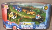Sega All-Stars Racing 4-car Play set Sonic Riders the Hedgehog Action Figure Toy