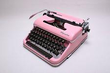 LIGHT PINK OLYMPIA SM3  - Vintage working typewriter - Monster weekend!